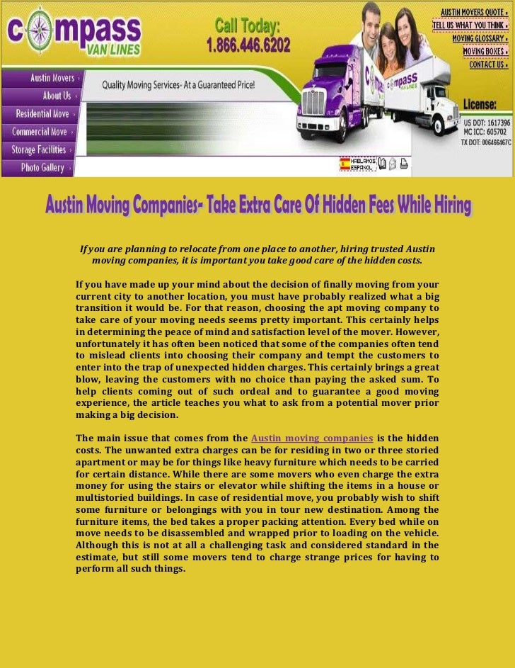 If you are planning to relocate from one place to another, hiring trusted Austin    moving companies, it is important you ...