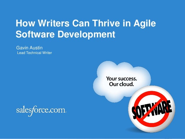 Agile2013 - How Writers Can Thrive in Agile Software Development