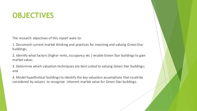 Research paper on green building