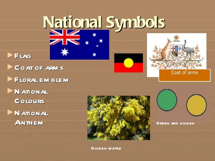 national symbols of australia The australian flag represents the independence of the australian nation and national pride the australian flag, like those of other nations, contains a unique set of colors, designs and.