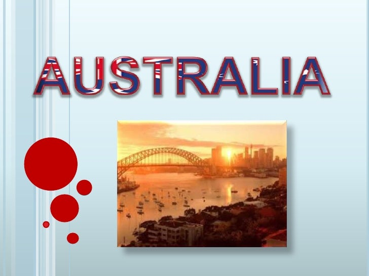 1. GEOGRAPHY1.1 LOCATION:Australia is an island of Ocenaia's continent. It isthe world's sixth-largest country.