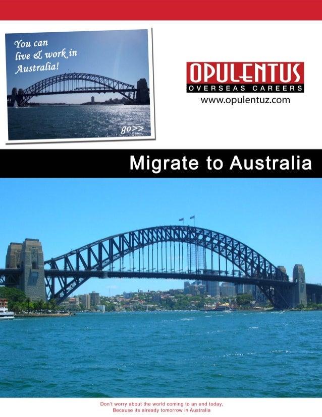 Australia Immigration - Full Service, Visa Documentation & Profile Evaluation