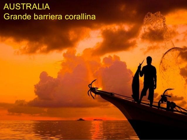 AUSTRALIAGrande barriera corallina