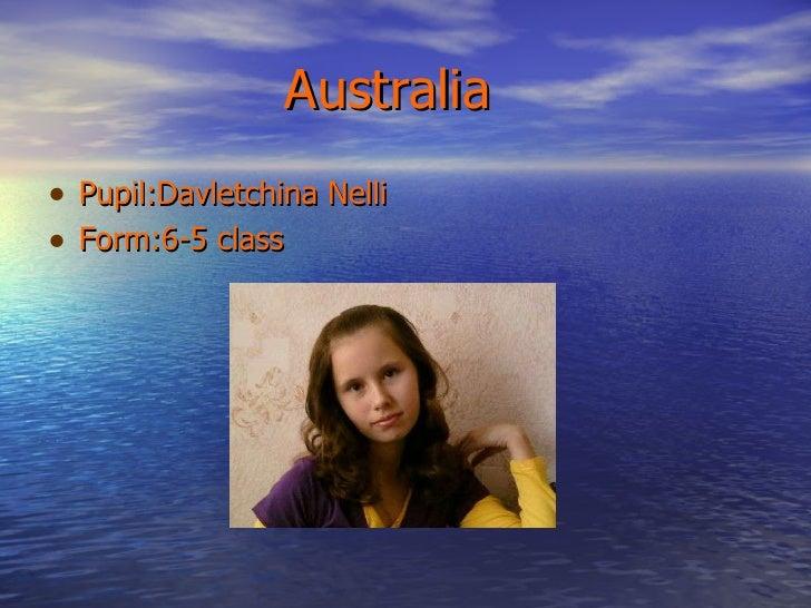 Australia, 2