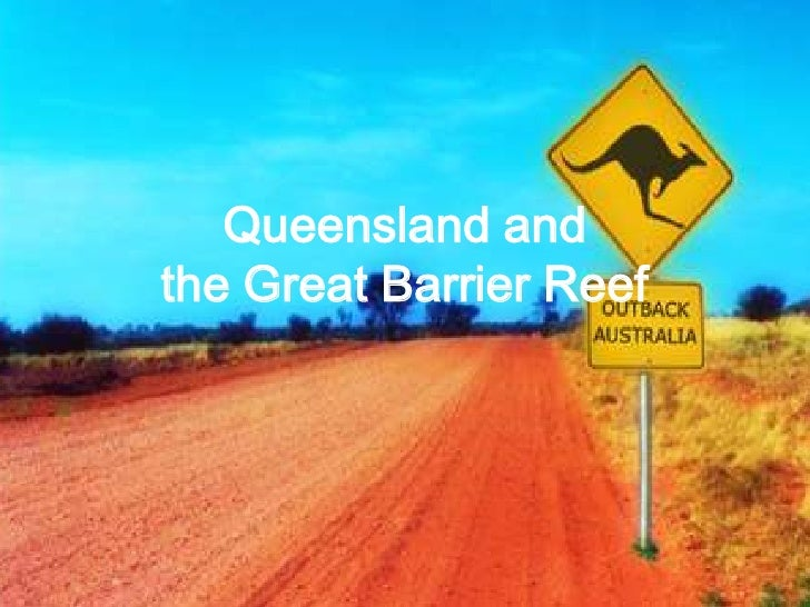 Queensland and the Great Barrier Reef<br />