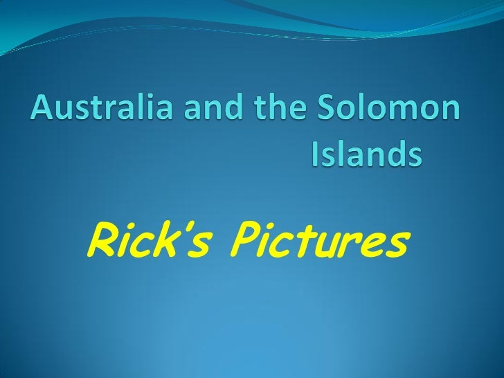 Rick's Pictures