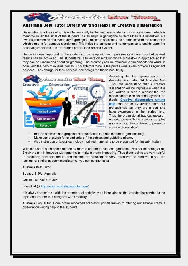 Australia thesis dissertation the writers world essays online