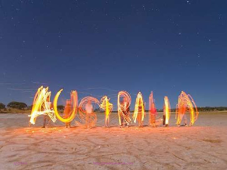 Australia City 5/17/2012