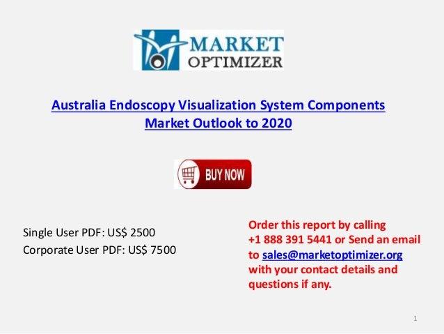 Australia Endoscopy Visualization System Components Market Outlook to 2020 Single User PDF: US$ 2500 Corporate User PDF: U...