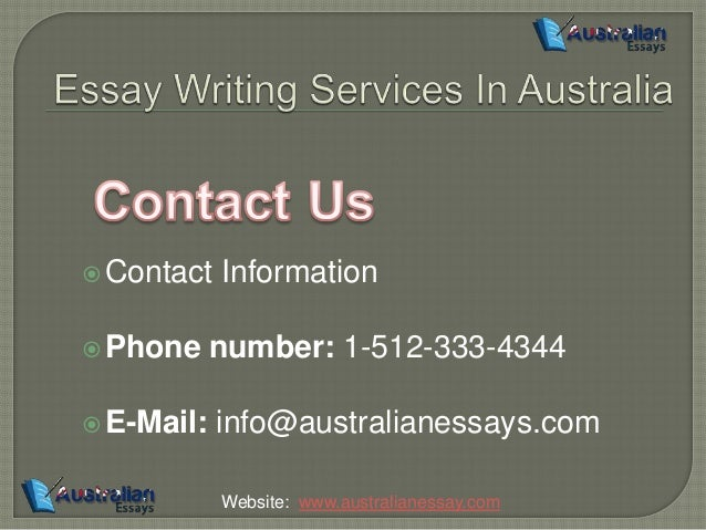 australia essay Australianessayhelpcom now offering up to 50% off to provide online essay help , we are the best of all custom essay writing services in australia.