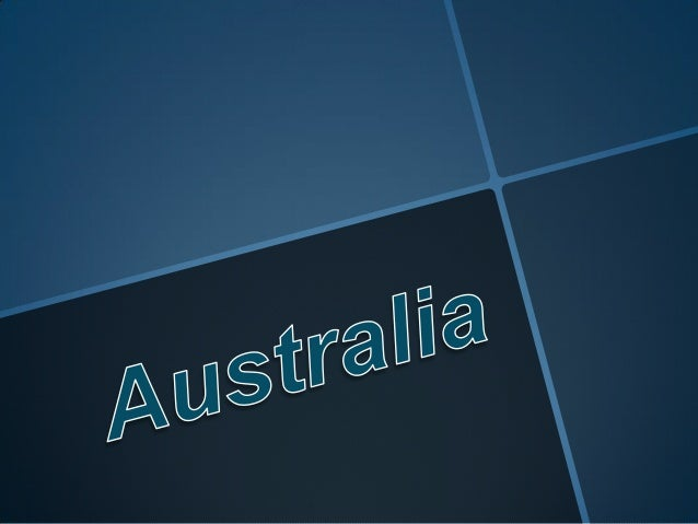 Australia project