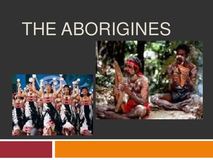 Australia History - The Aborigines