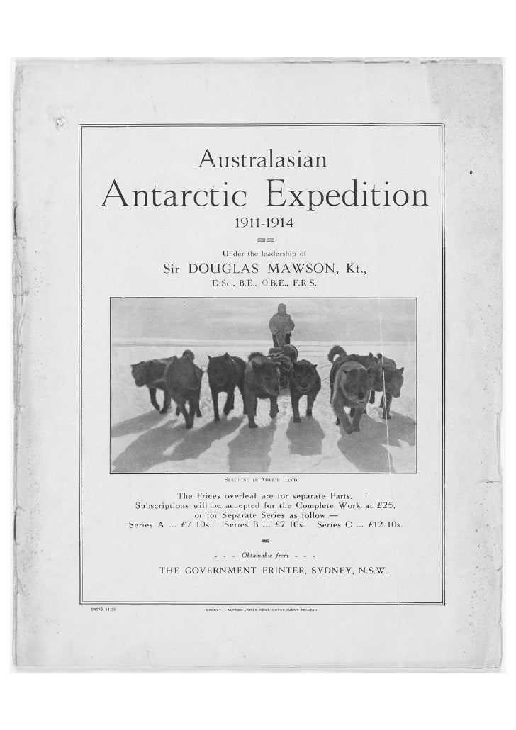 Australian Antarctic Expedition