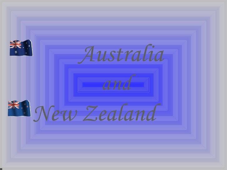 Australia - New Zeeland