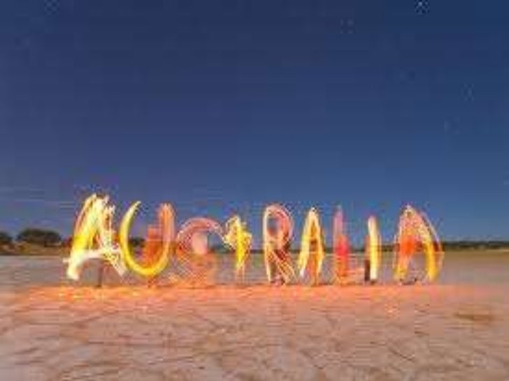 Australian identity project slideshow