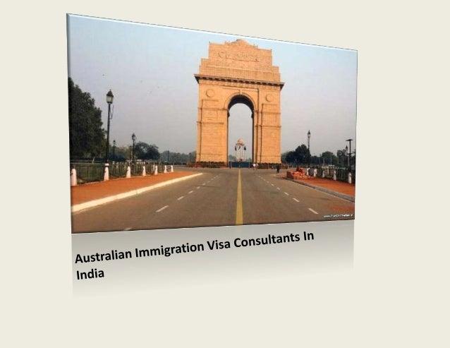 Australian immigration visa consultants in india