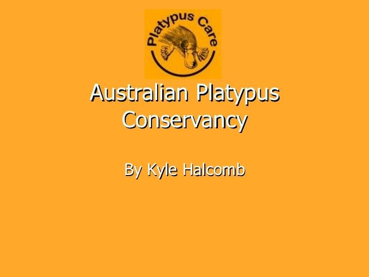 Australian Platypus Conservancy