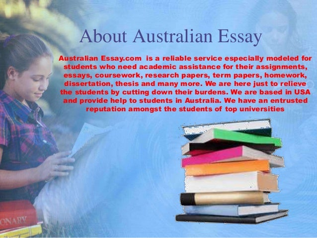 essay service australia Our assignment writing service deals all types of academic issues, our expert writers give you the finest help to complete your custom papers guaranteed.
