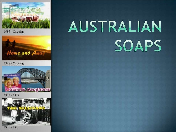Australian soaps power point