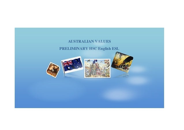 Australian values unit