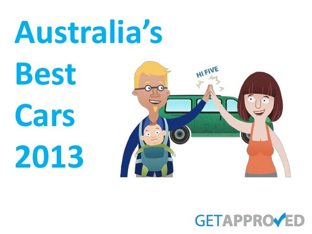 Australia's best cars 2013