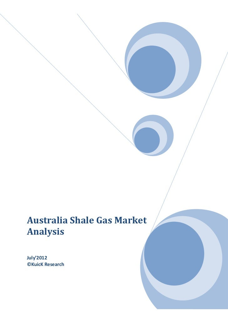 Australia shale gas market analysis