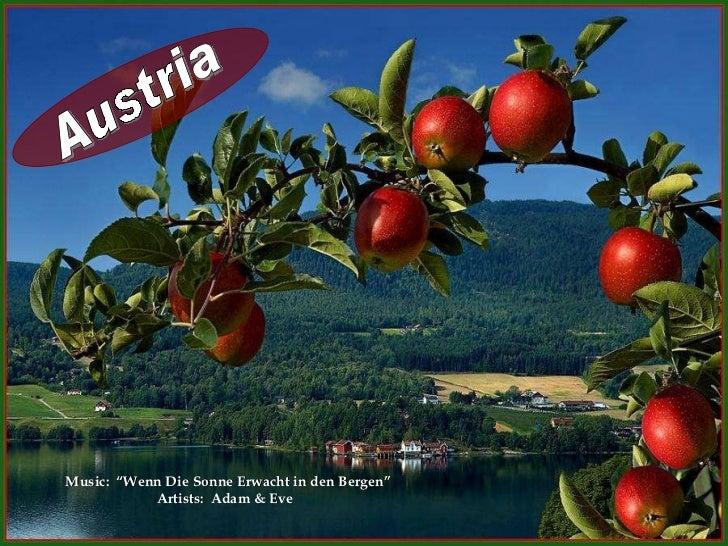 """Austria Music:  """"Wenn Die Sonne Erwacht in den Bergen"""" Artists:  Adam & Eve"""