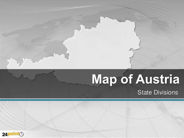 Austria Map PPT Slides