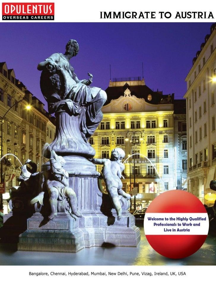 Austria Immigration & Visa Service Consultatns