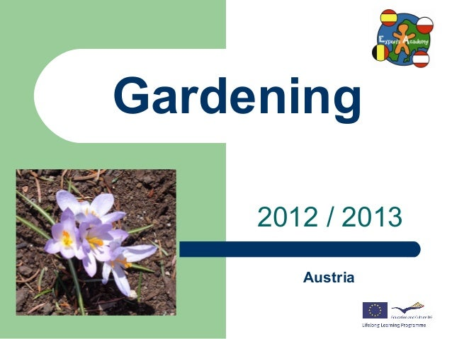 Gardening in Austria