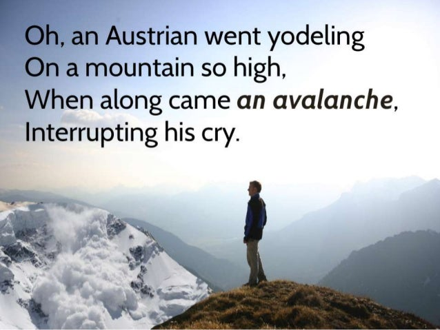 Austrian Went Yodeling