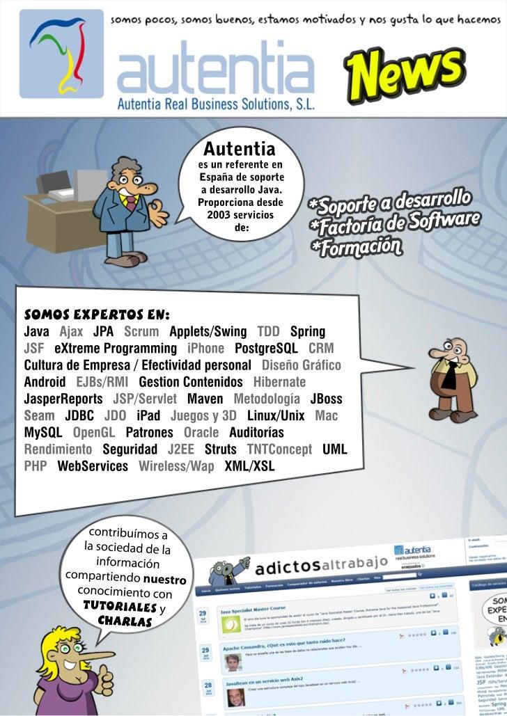 Autentia news