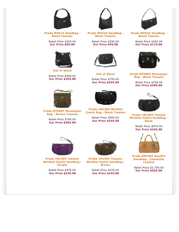 cost of prada handbags - Authentic Prada Handbags, Bag, Purses at Discounted Prices -pdf