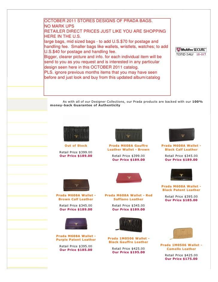 prada tote bags - Authentic Prada Handbags, Bag, Purses at Discounted Prices -pdf