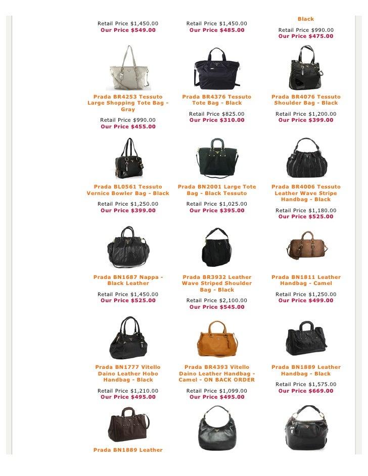 prada mini saffiano lux tote bag - Authentic Prada Handbags, Bag, Purses at Discounted Prices -pdf