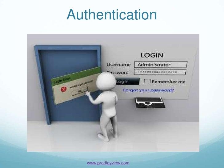 Authentication   www.prodigyview.com