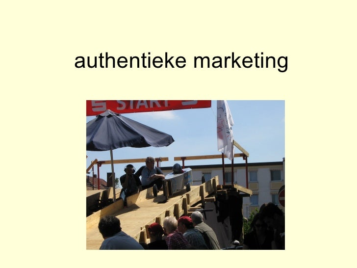 authentieke marketing