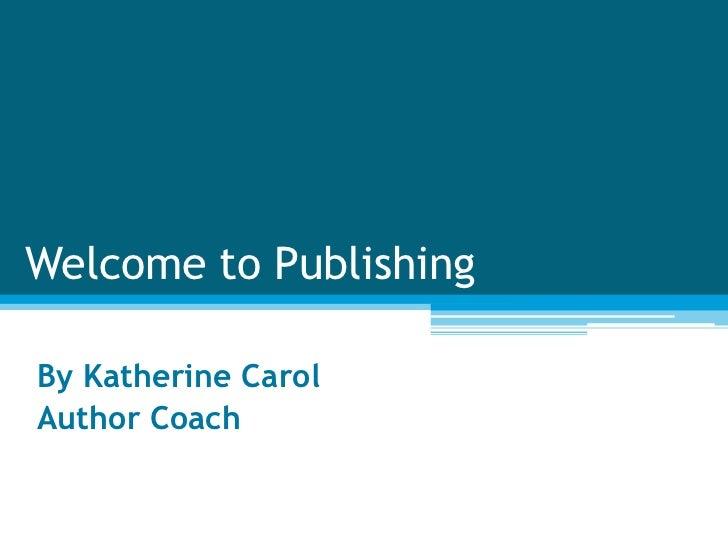 Author coaching