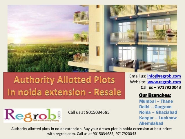 Authority plots in noida extension resale best prices 9015034685