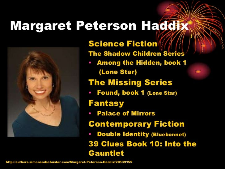 haddix among the hidden book report Book report for among the hidden geminijets boeing need to report the video margaret peterson haddix - among the hidden book trailer - duration.