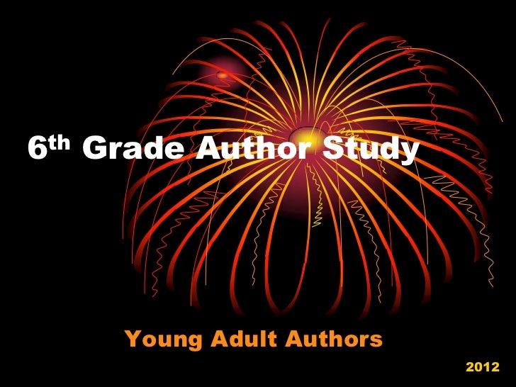 Authors Study: Power Point