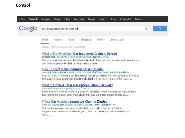 Authorship vs video snippets on ctr for information legal search