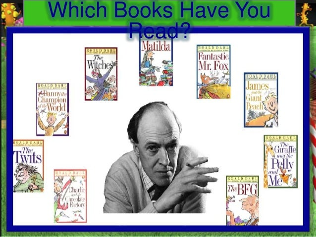 Roald Dahl Author Study | DonorsChoose.org project by Mrs ...