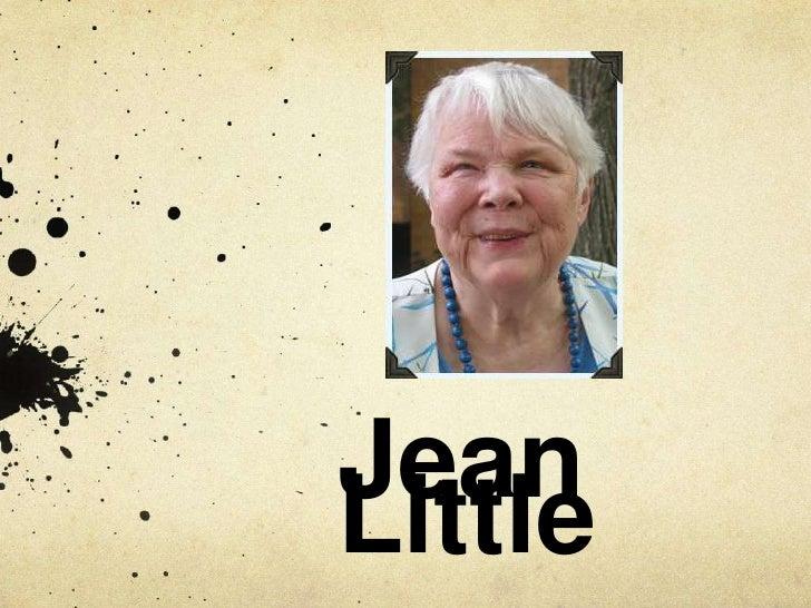 Author study jean little