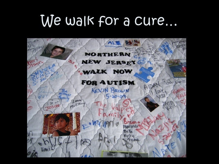 We walk for a cure…