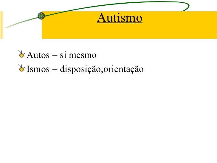 Autismo aula power point
