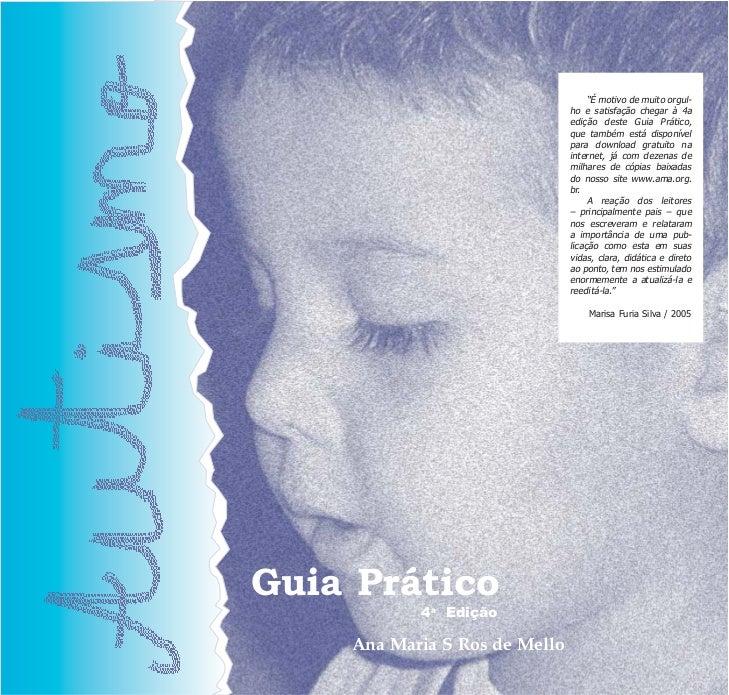 Autismo Guia Prático - AMA Associação dos Amigos do Autista
