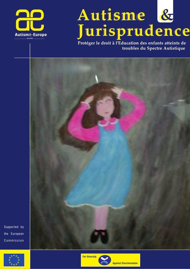 Aut isme &                             Autisme &       Autisme-Europe                a.i.s.b.l.                           ...