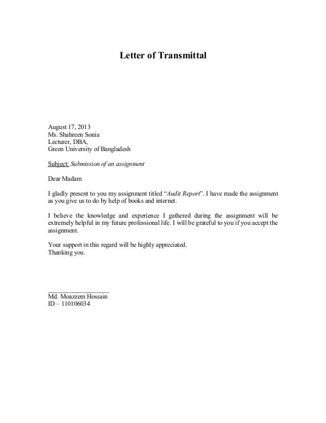 Letter assignment