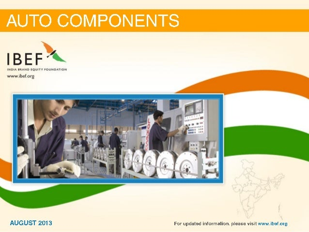 Auto components-august-2013